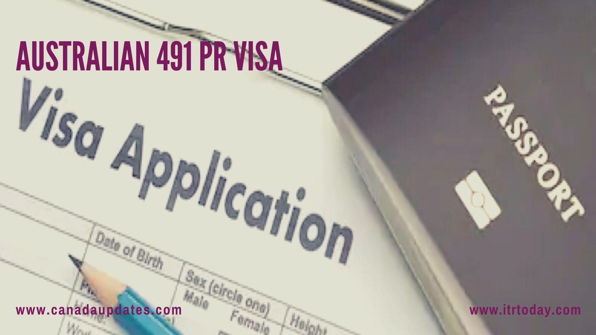 Australian 491 PR Visa 3