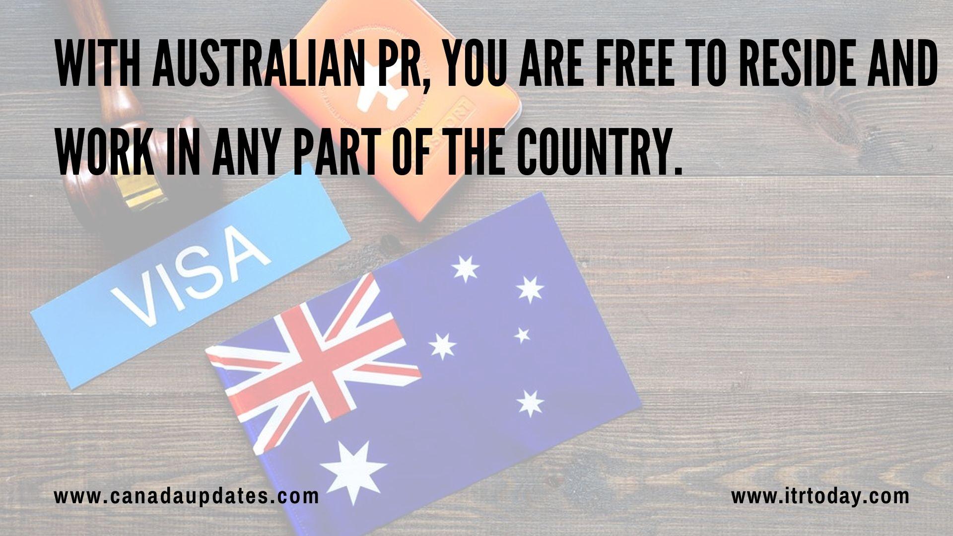 minimum Score required for Australian PR 1