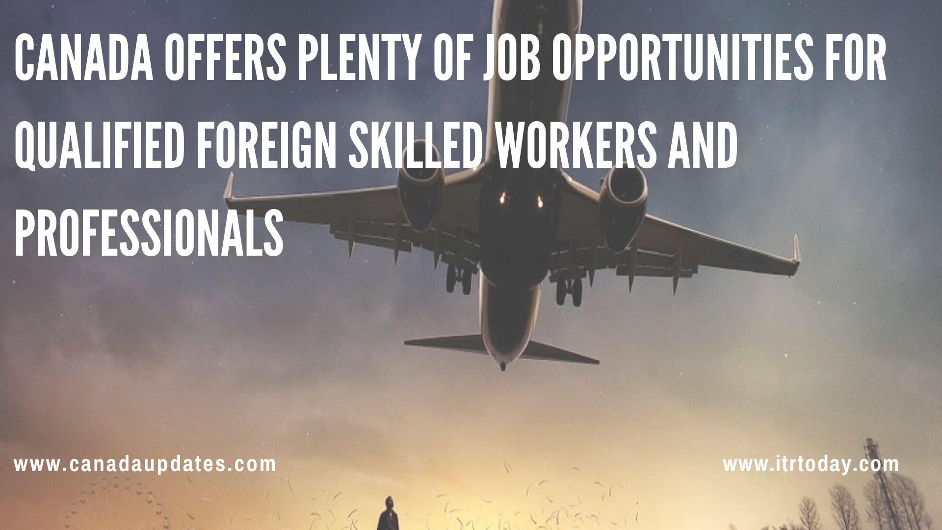 promising Jobs in Canada3.3
