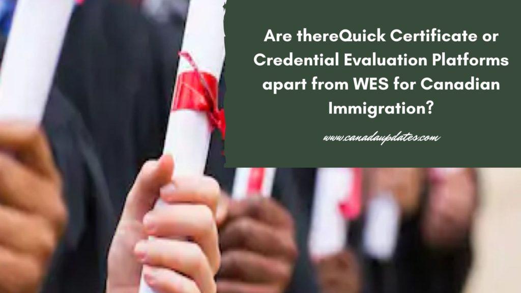 Credential Evaluation Platform 1