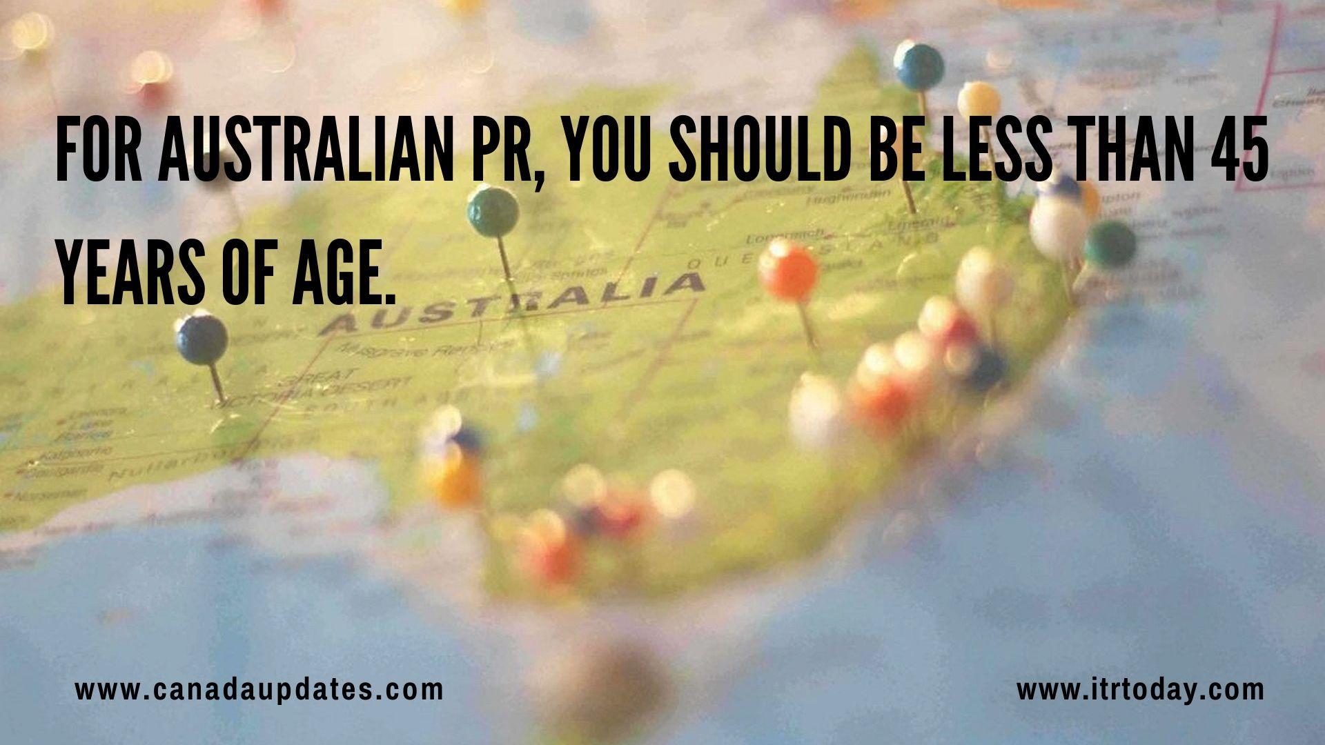 minimum Score required for Australian PR 2