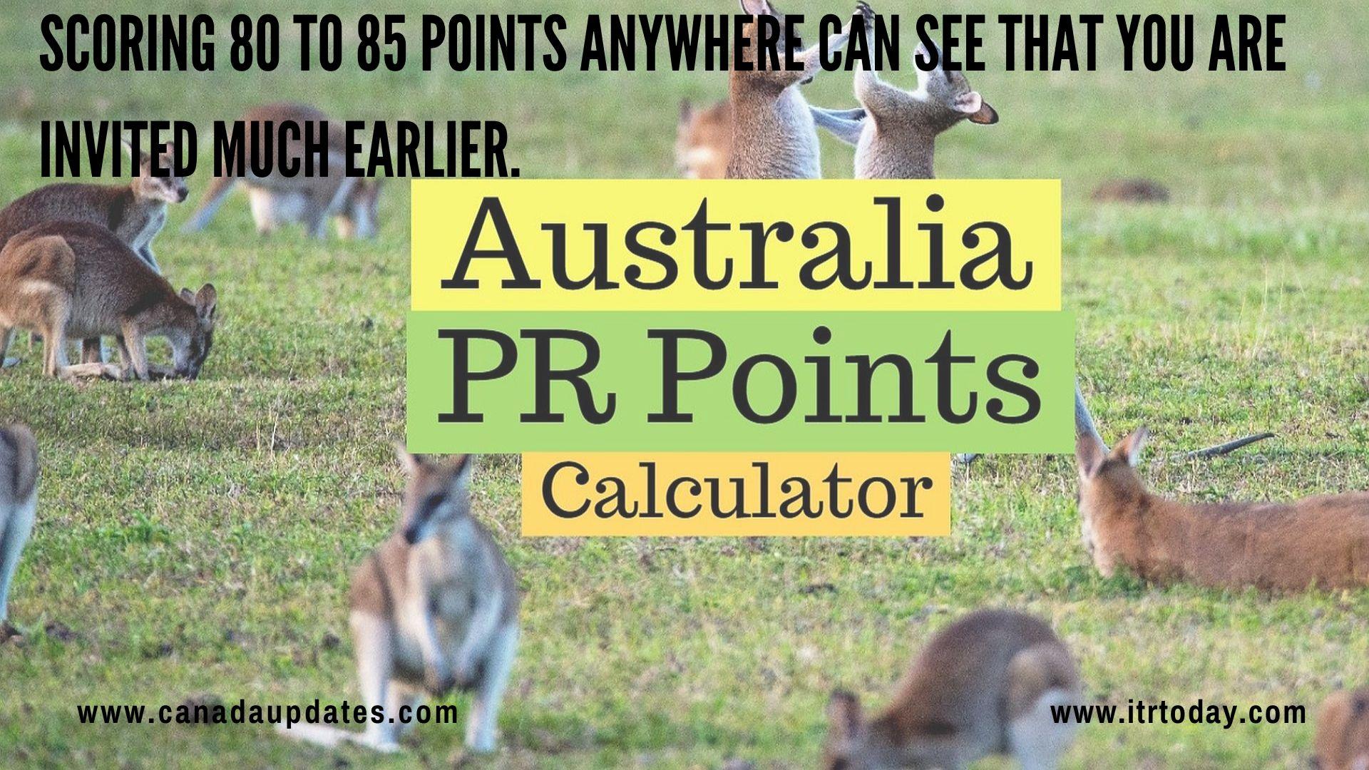 minimum Score required for Australian PR 3
