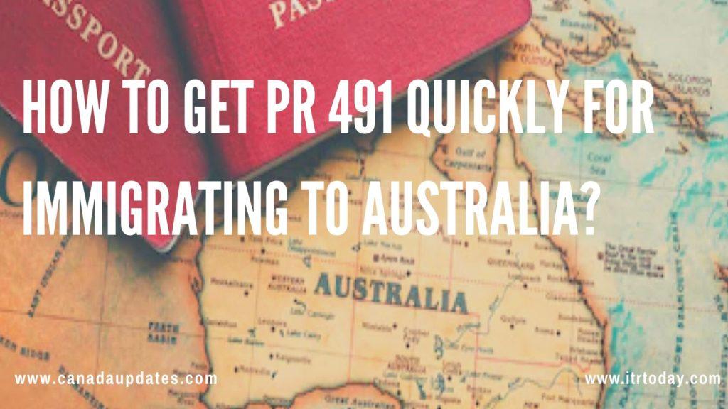 Australian 491 PR Visa 1