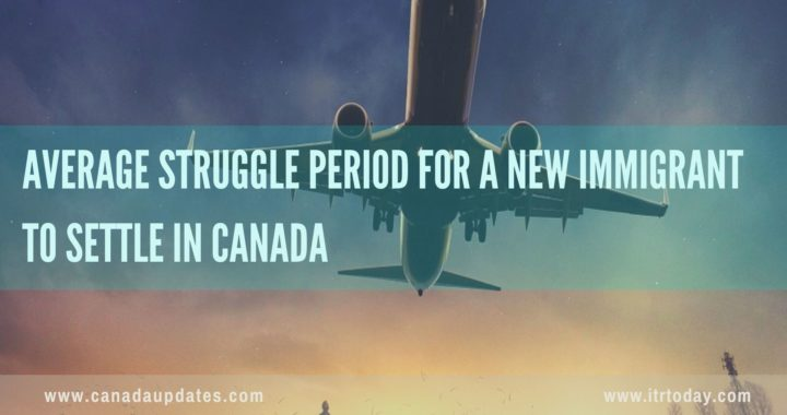 Average Struggle Period for a New Immigrant to Settle in Canada 1