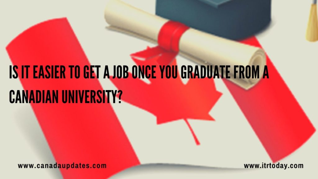 Get a Job Once You Graduate from a Canadian University1
