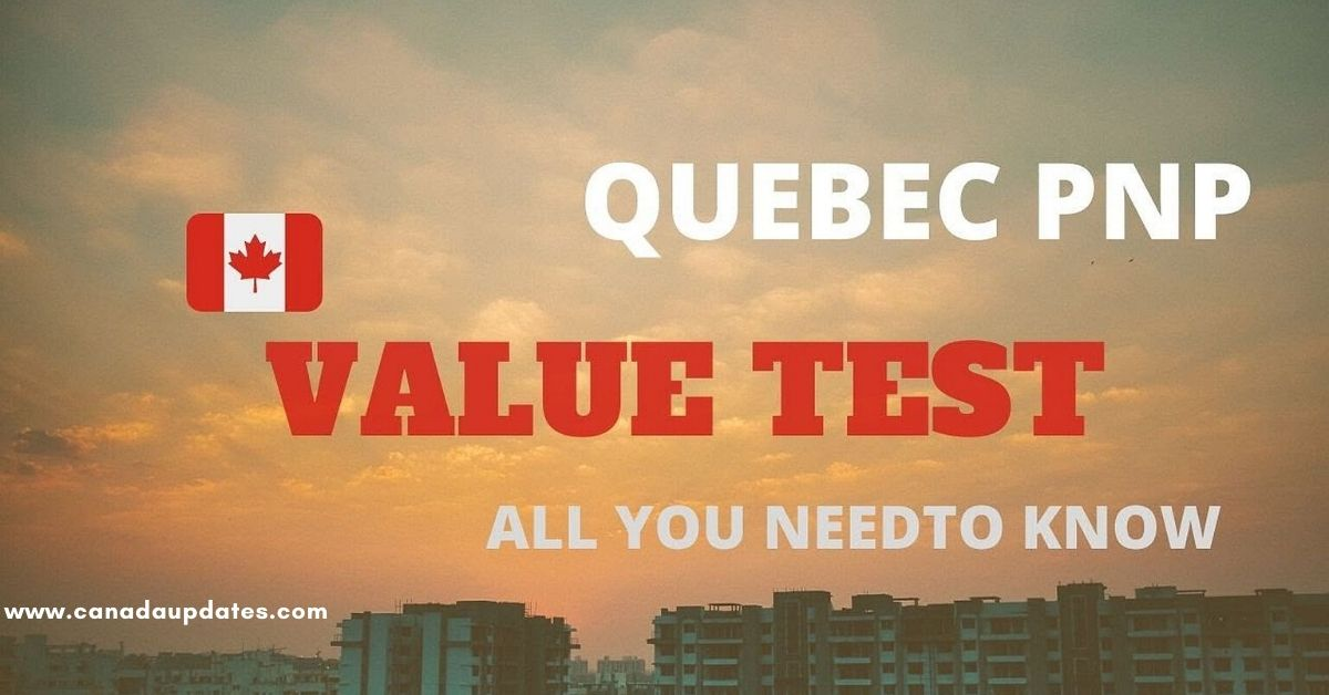 Values Test of Immigrants in Canada 2