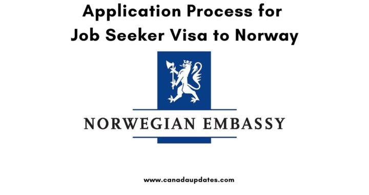 Job Seeker Visa to Norway 3