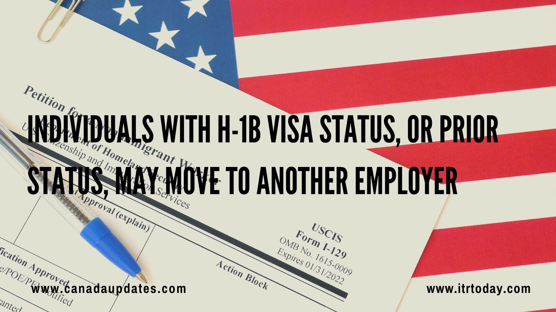 H1B Visa Transfer 1