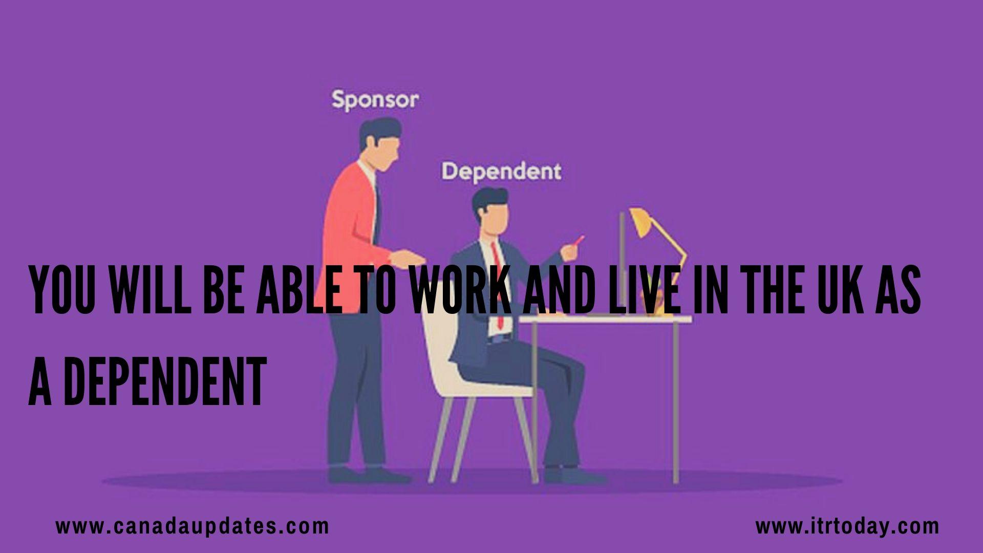 dependent Visa UK 2