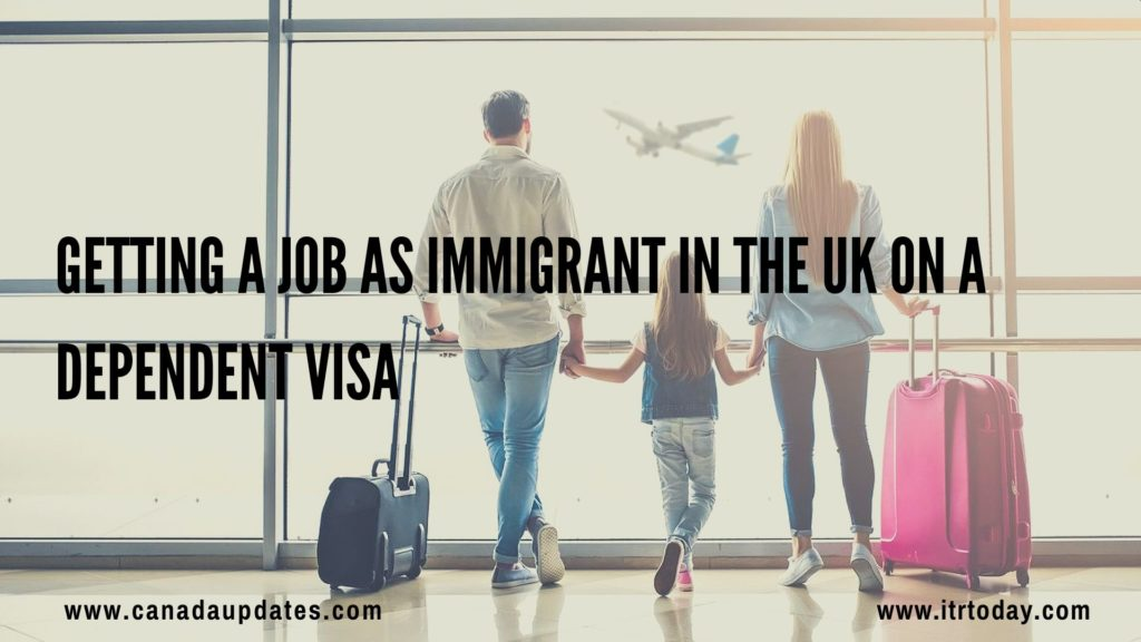 dependent visa UK 1