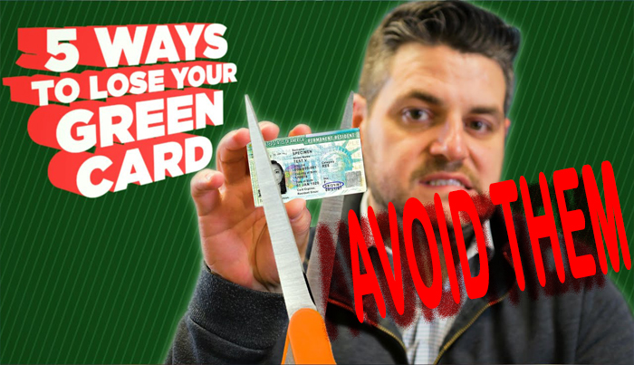 Mistakes to Avoid for Losing your Green Card in the USA