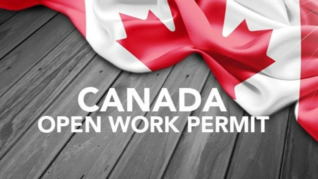 Which Visa Programs make use of Open Work Permits?