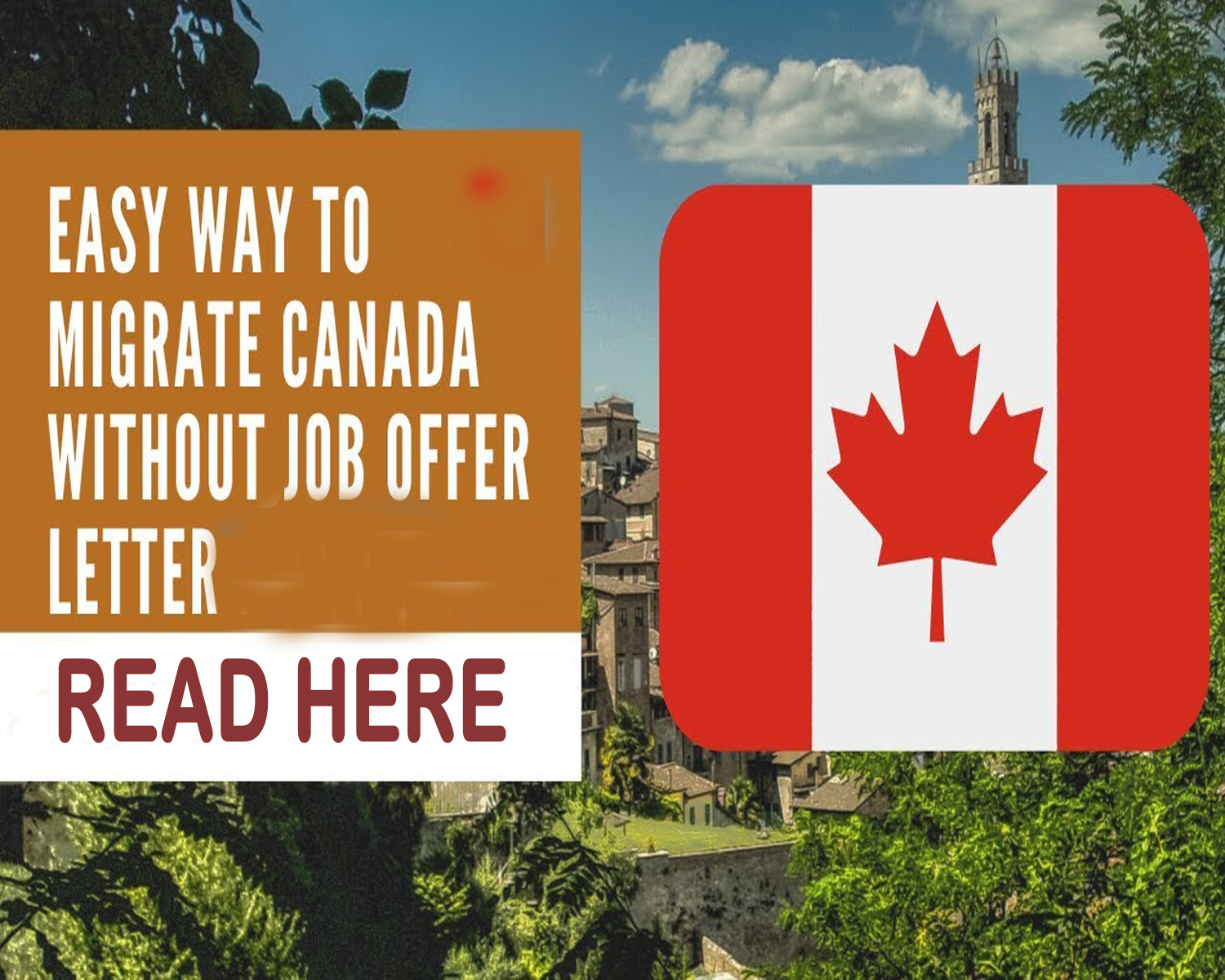 Ways To Migrate To Canada Without a Job Offer