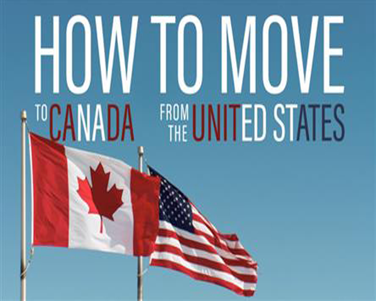 Migrate from the US to Canada