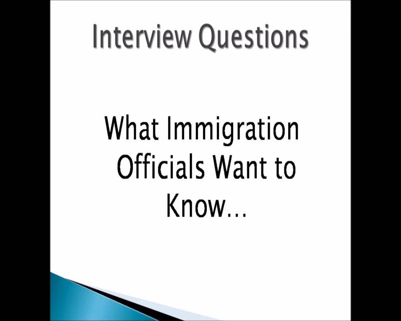 Conditional Resident Spousal Visa Interview Enquiries