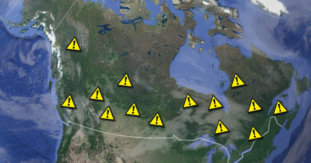 Most Dangerous Cities in Canada