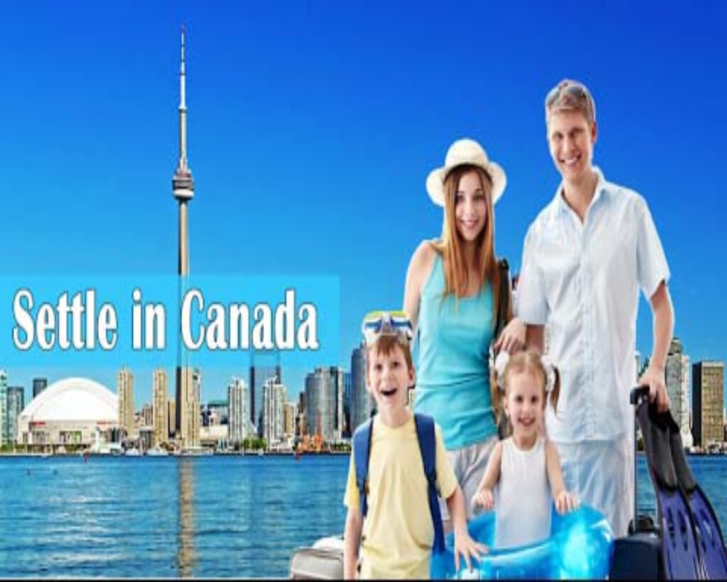 settle in Canada with Family