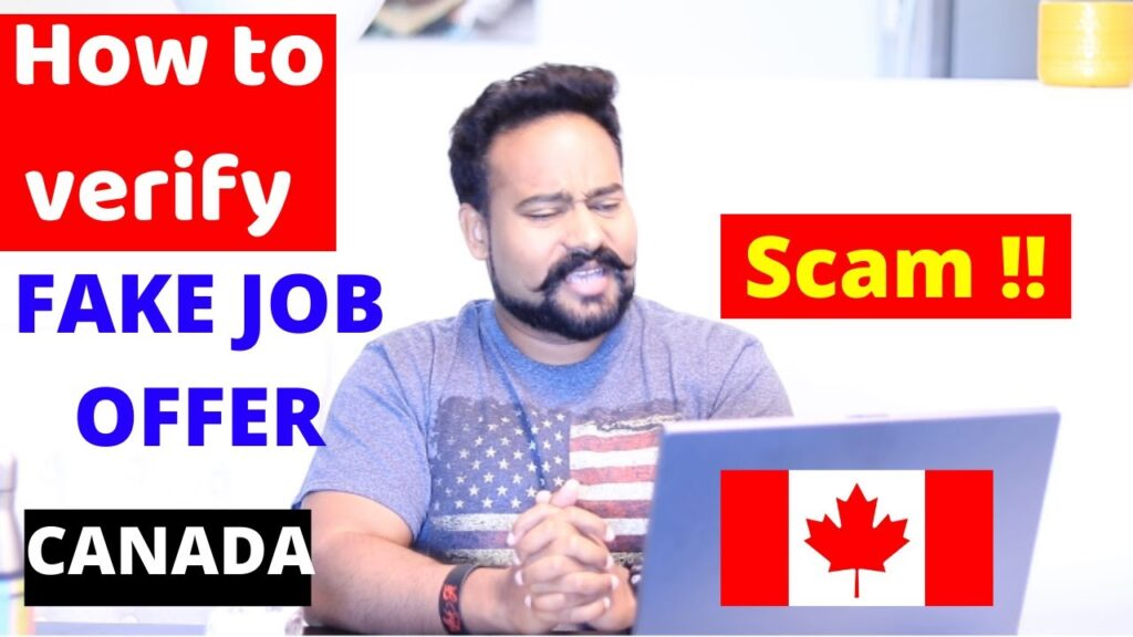 Fake Job Offers in Canada