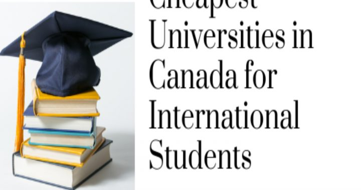 cheapest university in Canada