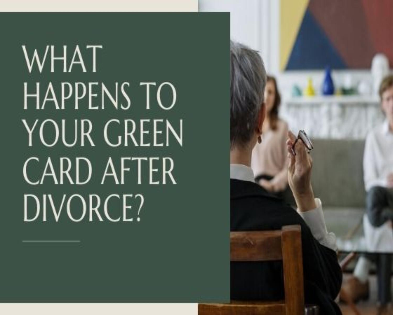 green card after divorce