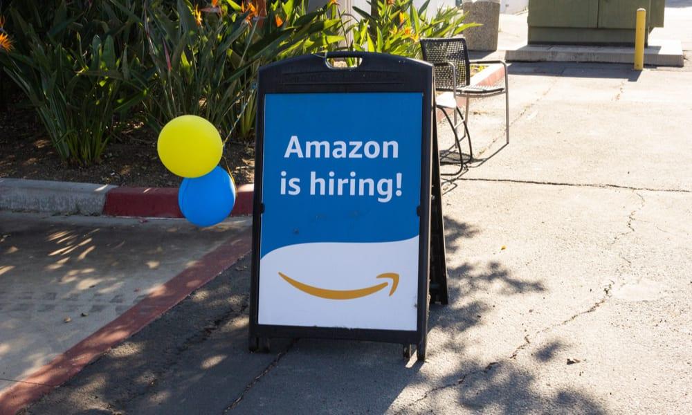 Amazon on hiring spree